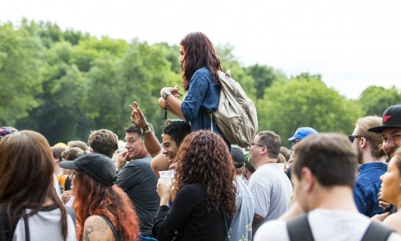 Combining the art exhibits with the natural wilderness surrounding the festival, Eaux Claires transforms into a wooded paradise for all things art, literature and music.