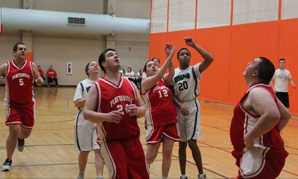 Roughly 20 teams competed at a recent Special Olympics tournament at the SERF.