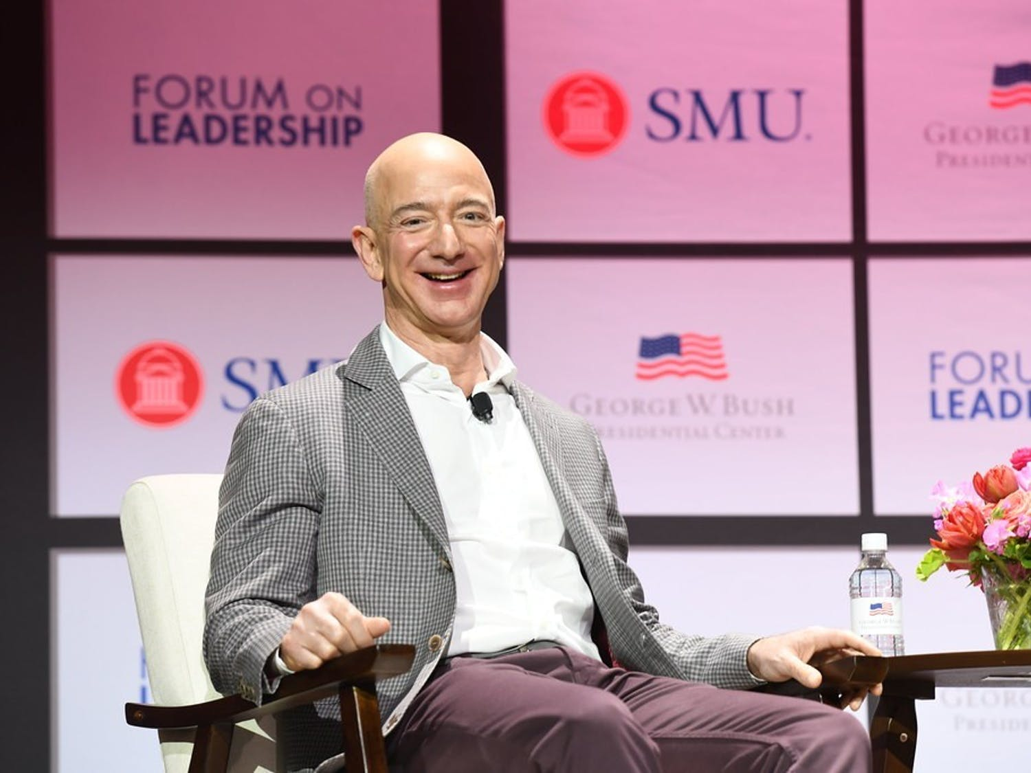 Bezos' net worth is $186 billion, while 38.1 million people live below the poverty line in America as of 2018
