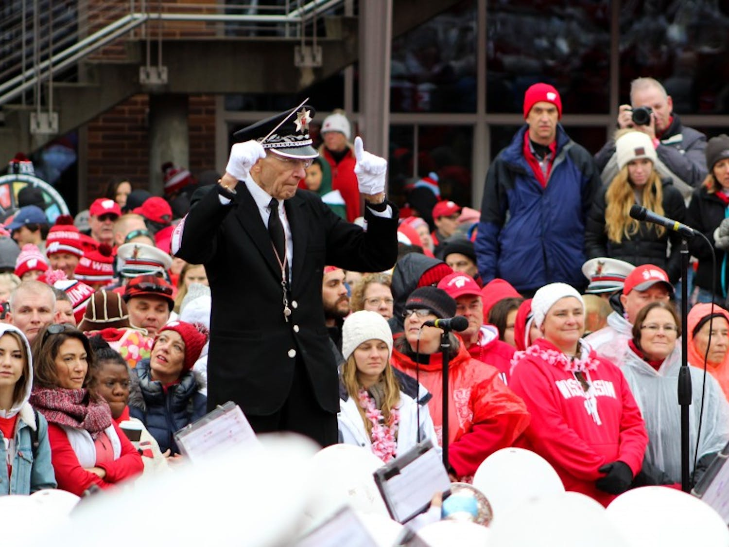 The UW Band Spring Show this week will be the last performance directed by veteran band-director Mike Leckrone.