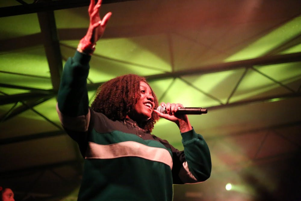 Noname gives a strong performance at SXSW this year.
