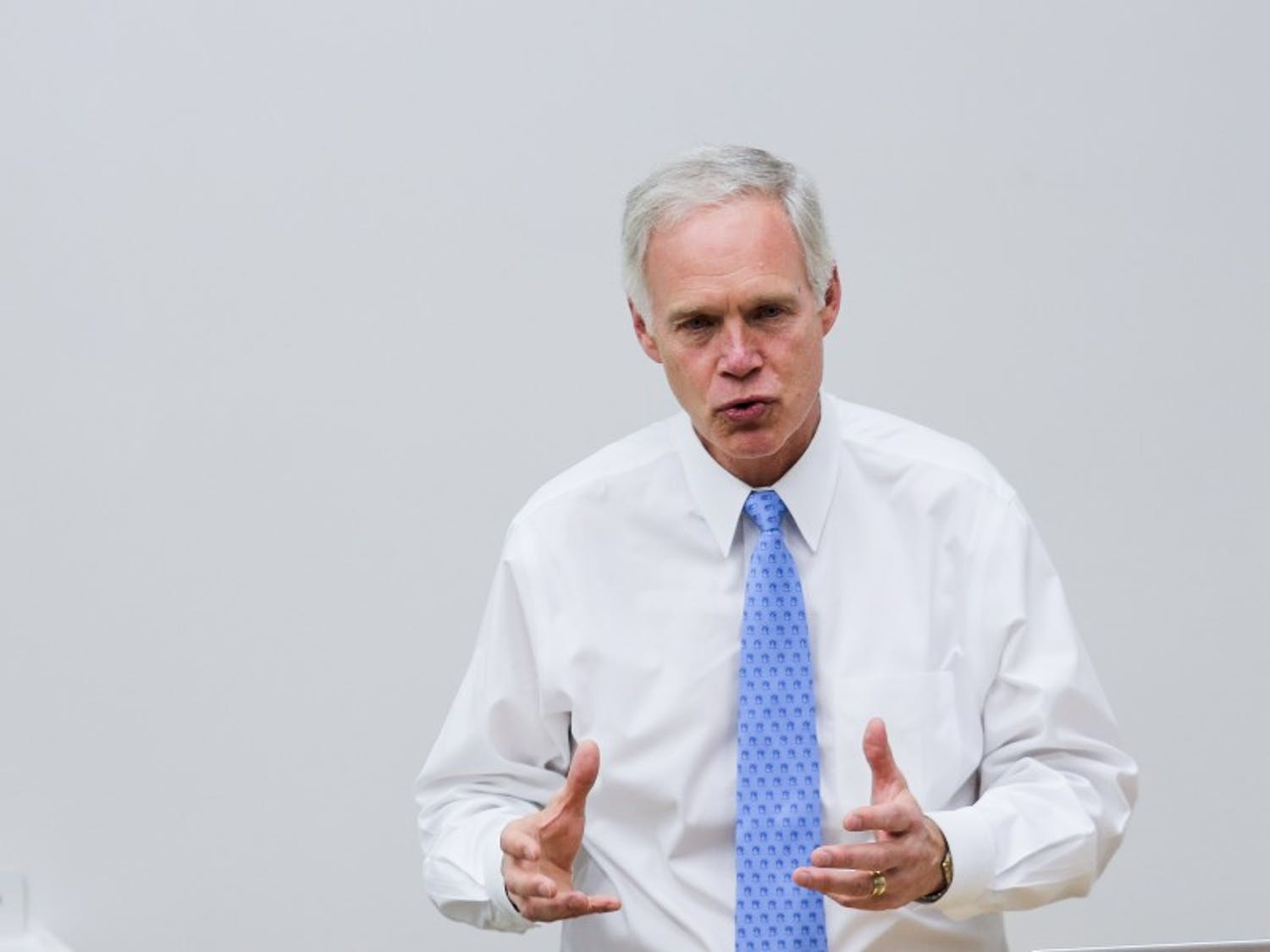 """I take the position that we shouldn't have a special counsel at this time. We should let the [congressional] committees do their work,"" U.S. Sen. Ron Johnson, R-Wis., said."