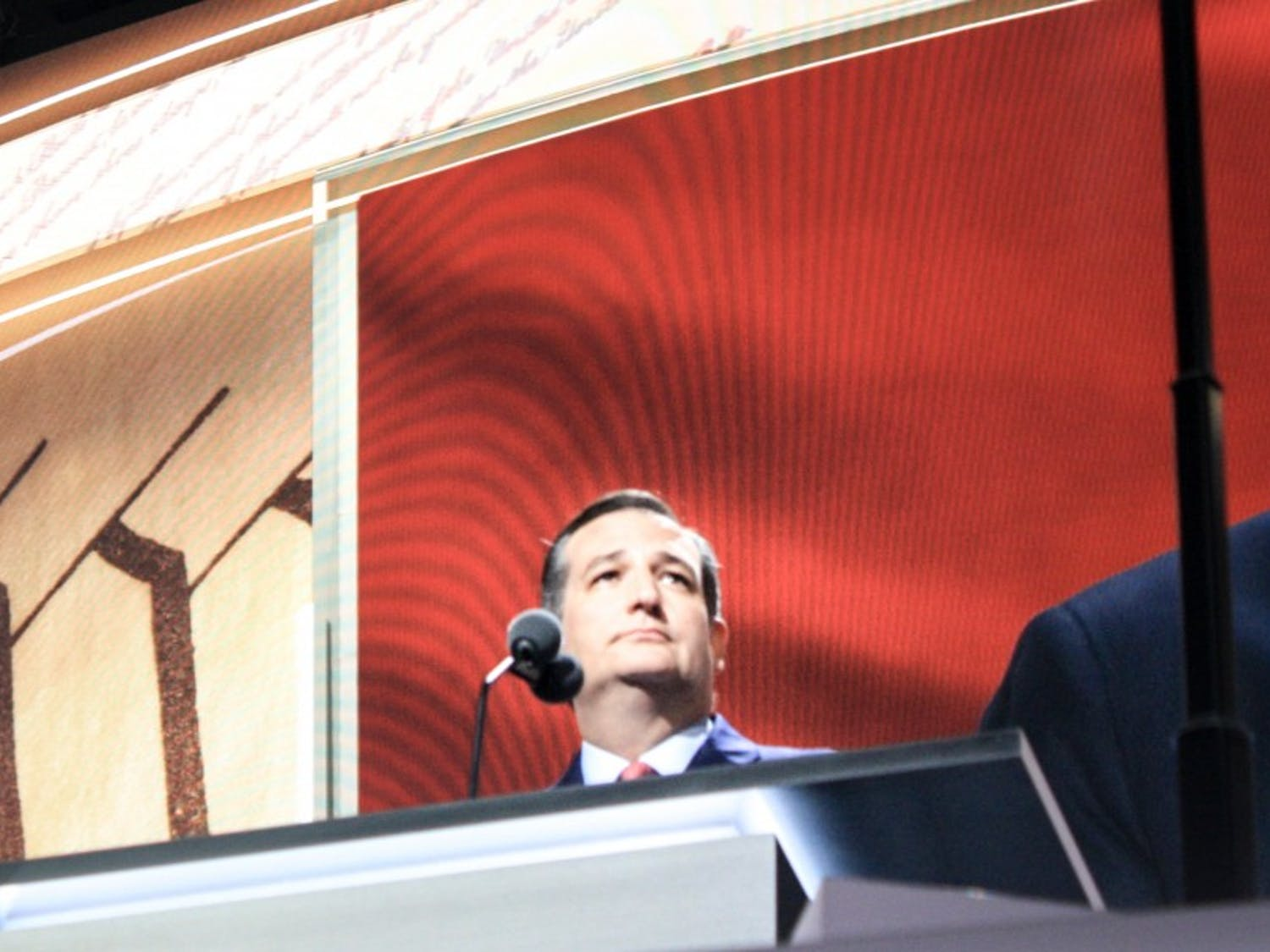 U.S. Sen. Ted Cruz, R-Texas, was booed off stage after his convention speech for not endorsing Donald Trump.