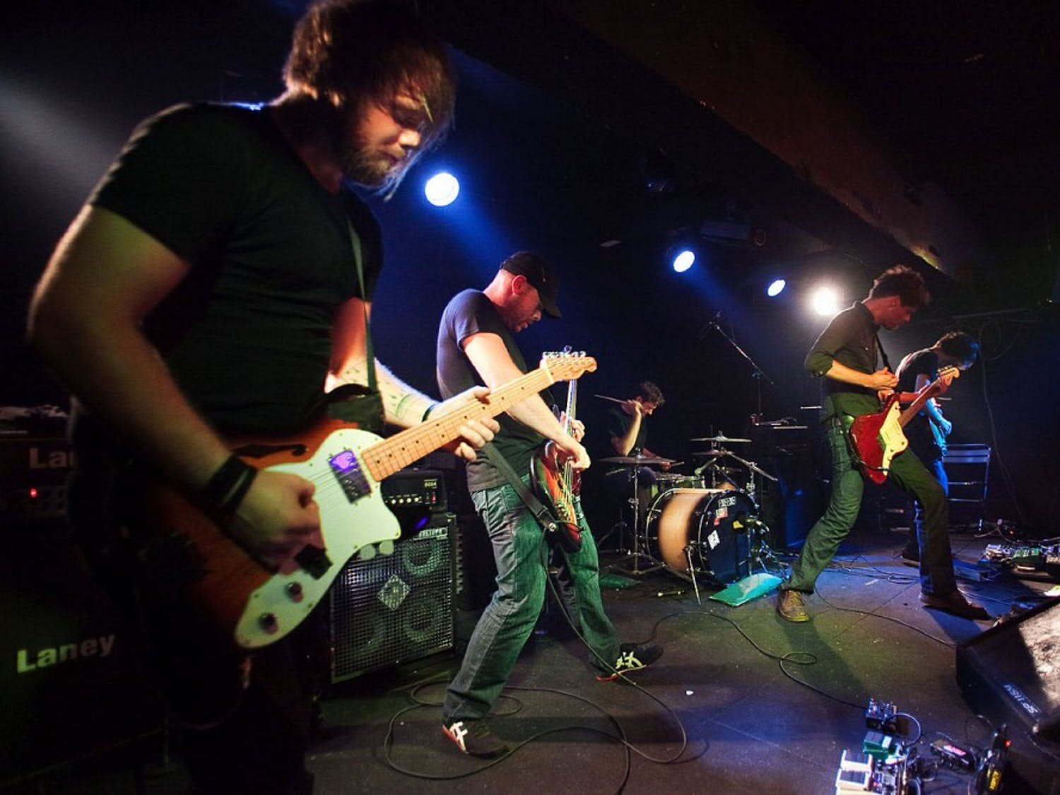 Photo courtesy of creative commons.Caspian energized and chilled the Madison crowd exciting rock music.
