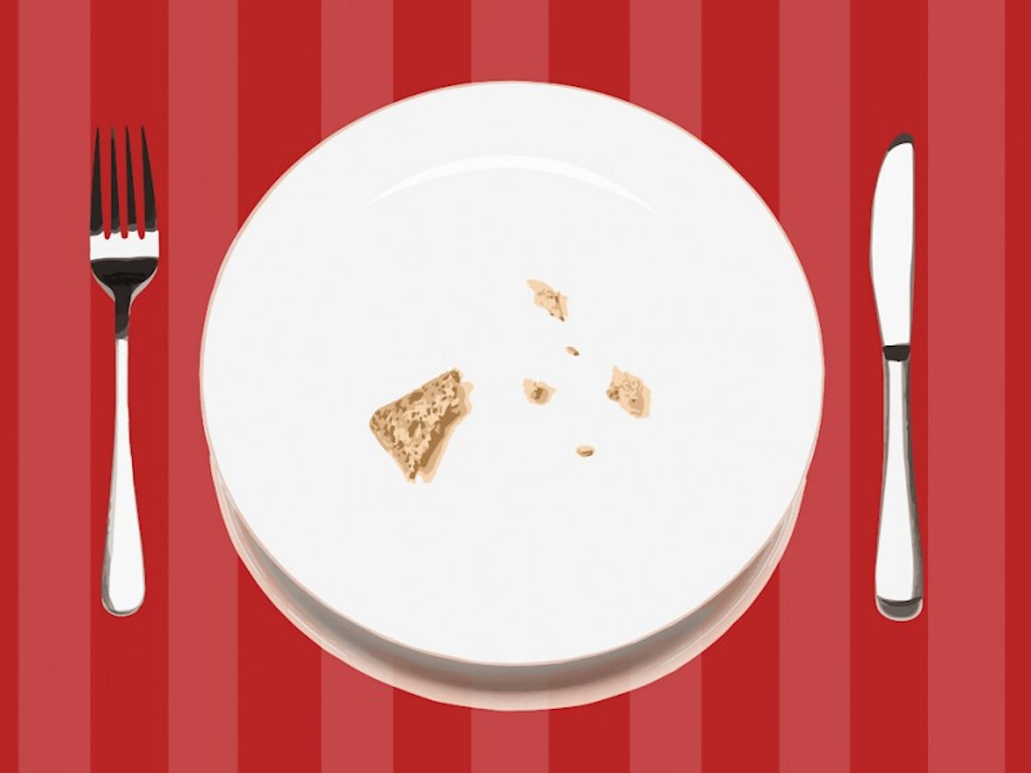 Empty plates are negatively affecting UW-Madison students' physical and mental health.
