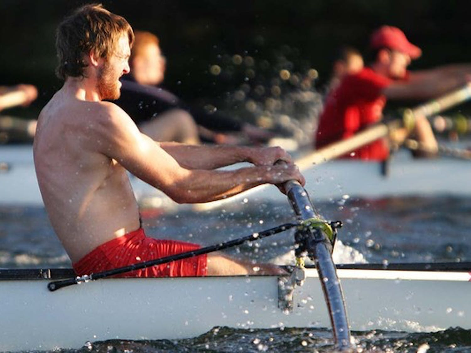 Rowing for the legendary Cochrane Cup
