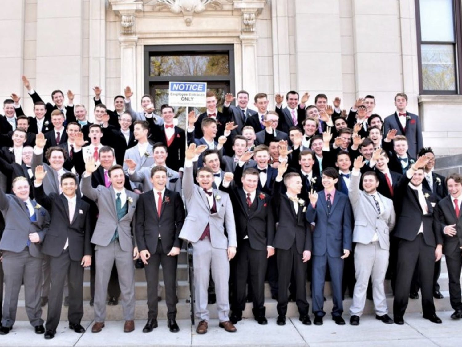 The Baraboo School District will not punish students involved in a viral Nazi salute photo, citing lack of evidence of anti-Semitic intent.