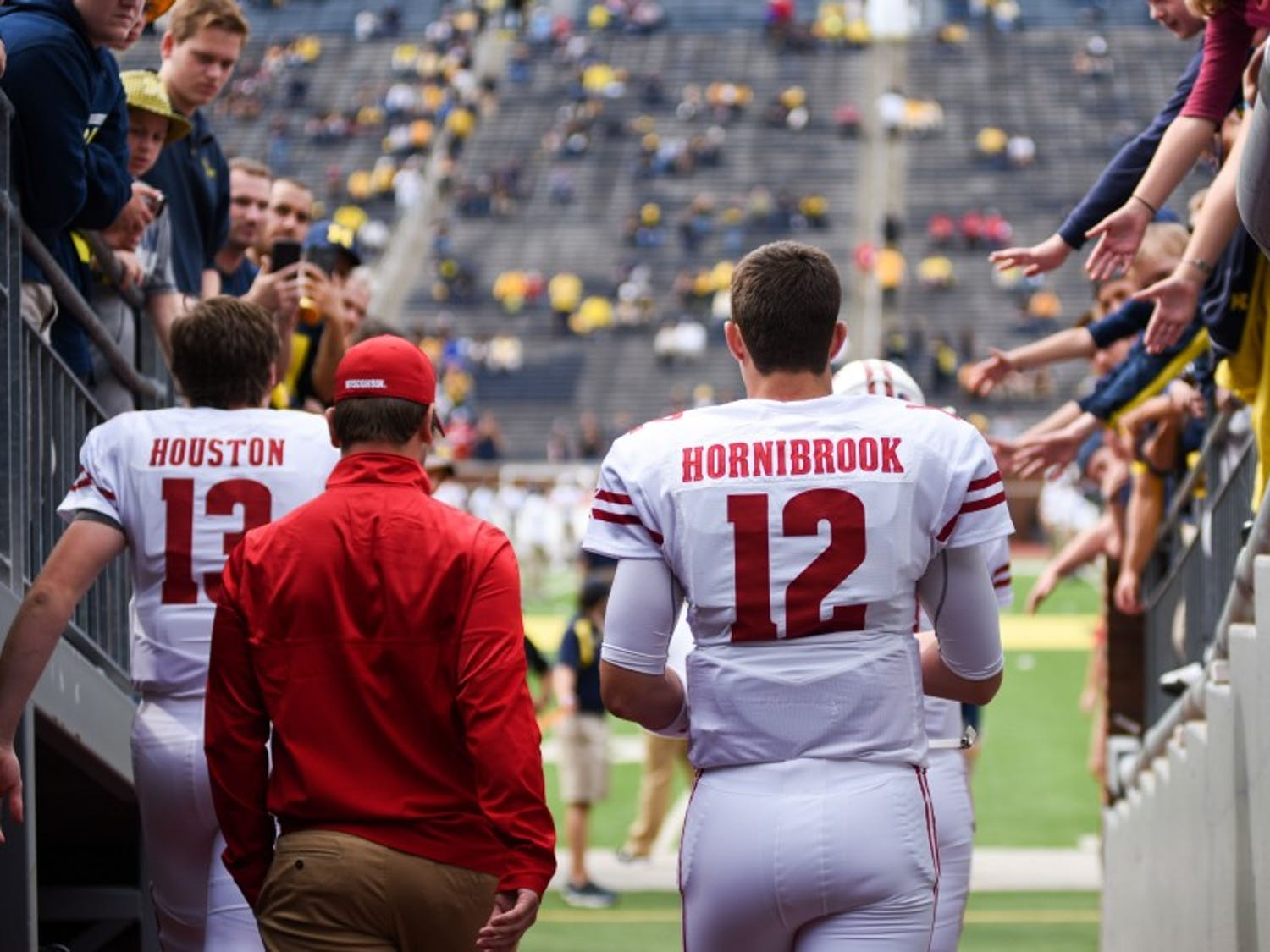 Quarterback Alex Hornibrook was inconsistent in his three years as a starter, but he reached heights few Wisconsin signal callers have achieved.