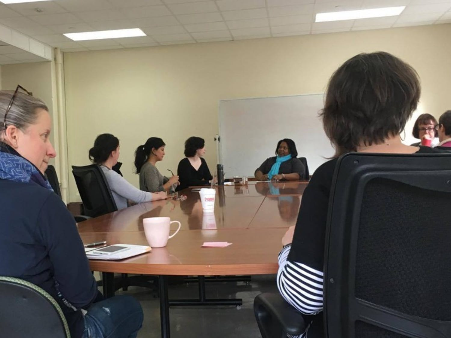 A group of UW-Madison faculty, staff and students exchanged thoughts on trigger warnings and maintaining comfortable space in the classroom, or not.