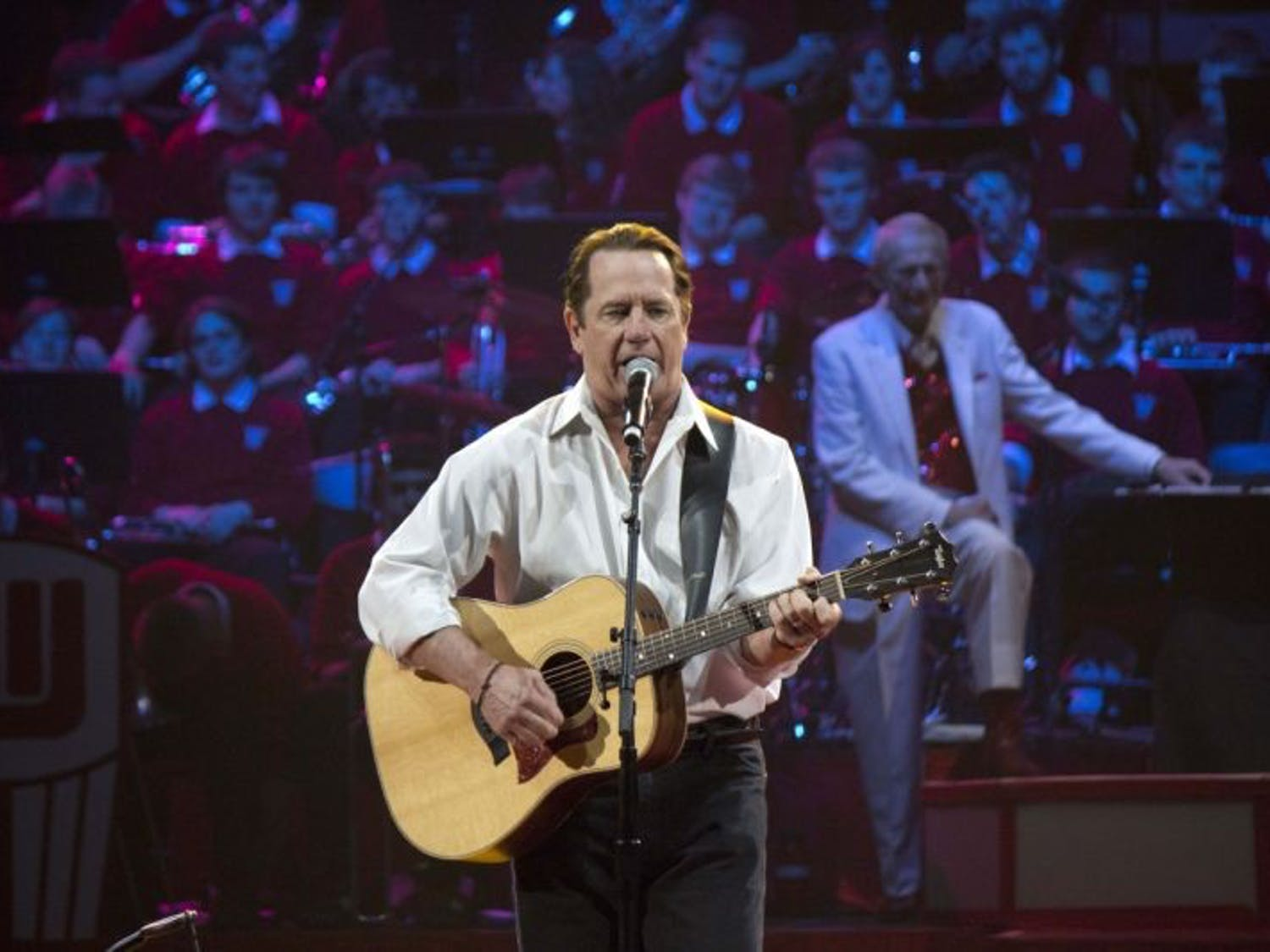 The University of Wisconsin-Madison 'Varsity' band performed its 40th annual spring concert Thursday, Friday and Saturday. Special guests included Tom Wopat and Mark Pender. It played Wisconsin favorites, as well as James Bond, The Phantom of the Opera and The Beatles.