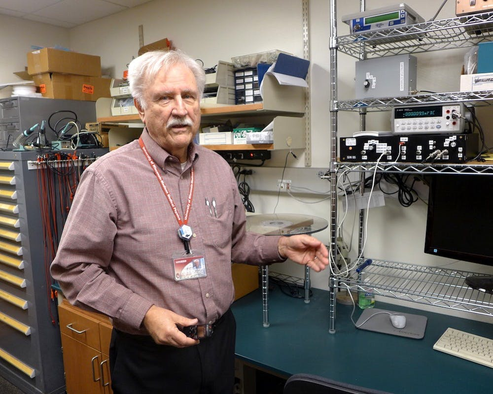 Larry DeWerdhas worked at the University of Wisconsin Radiation Calibration Laboratory since 1981 and helps calibrate radiation instruments from across the country.