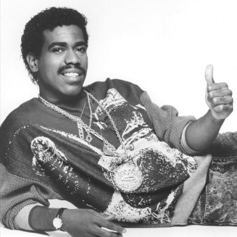 """Kurtis Blow (above) was one of the first commercially successful rappers thanks to hits like """"The Breaks,"""" """"Christmas Rappin',"""" and of course, """"Basketball."""""""