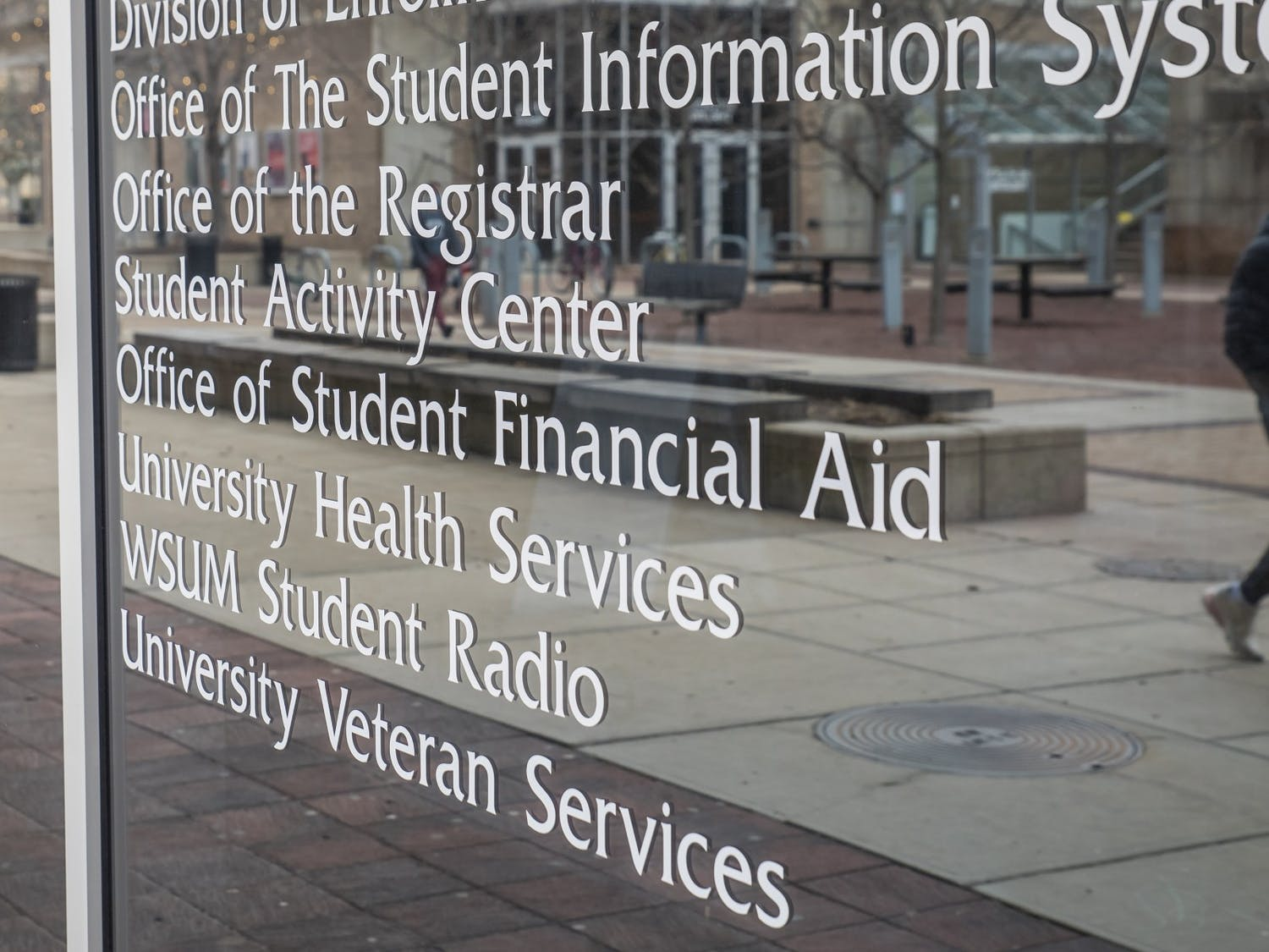 Photo of the Office of Student Financial Aid.