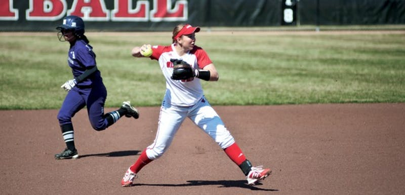 Senior third baseman Michelle Mueller was named Big Ten Player of the Week Monday.