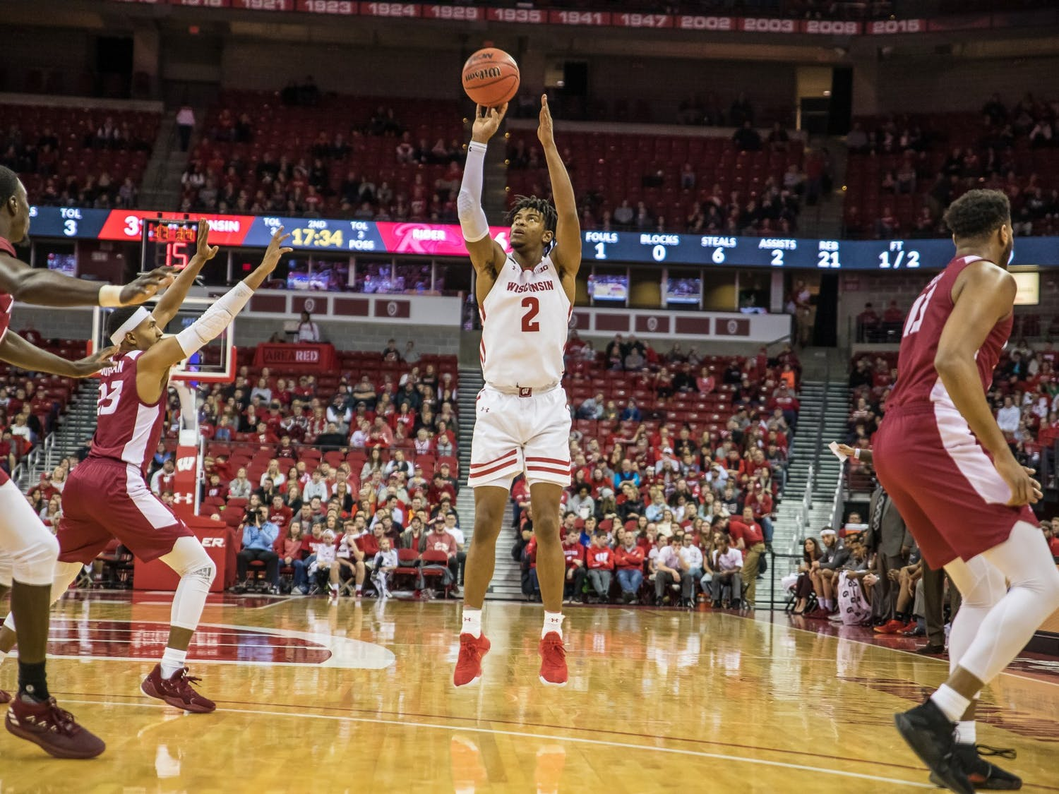 Aleem Ford will have to look for more shots, as the departure of Kobe King leaves a void in the Badgers offense.