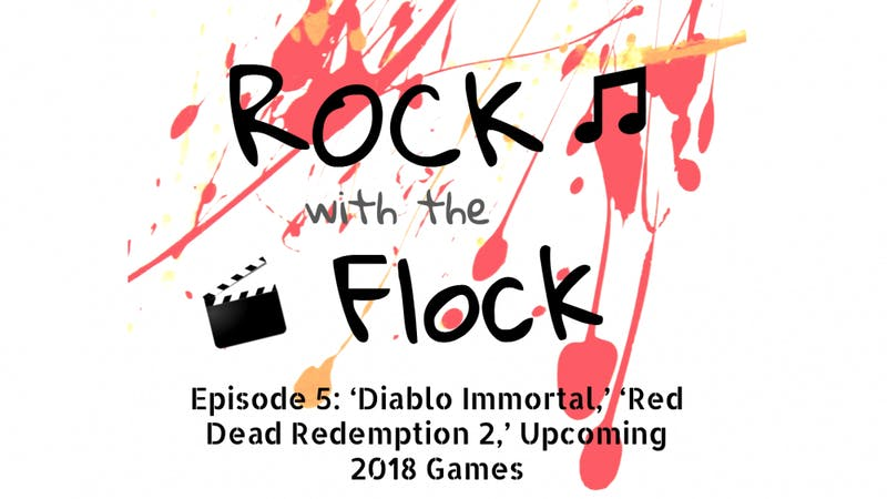 "Tune in to new episodes of ""Rock with the Flock"" every Wednesday at 7 p.m."