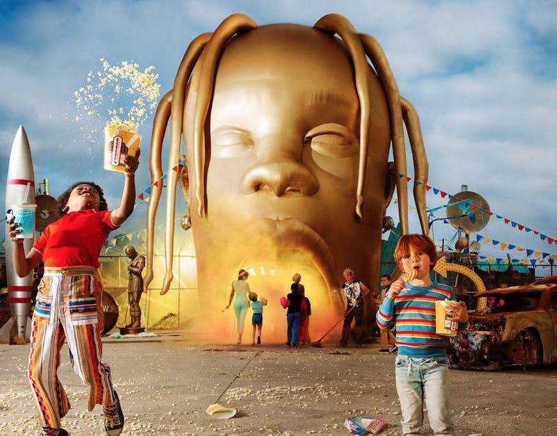 ASTROWORLD puts Travis Scott's curating chops and trap mastery on full display.