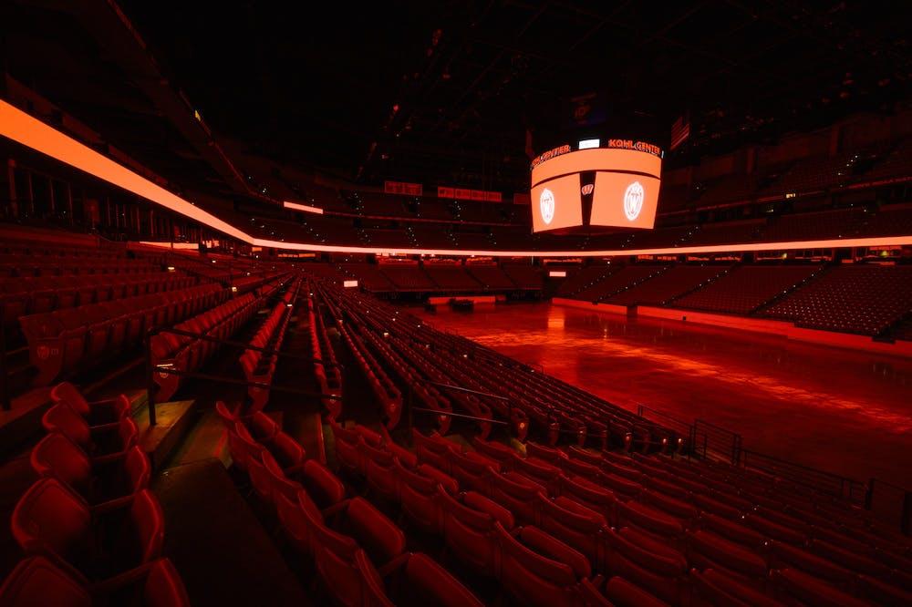 Empty_Kohl_Center_red_light20_9071