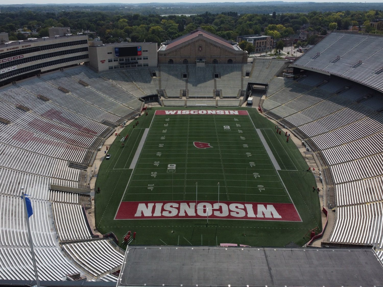 Camp Randall is set to see action for the first time since November 23, 2019.