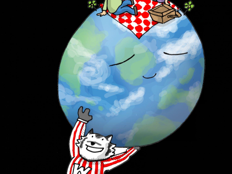 Earth Day Bucky