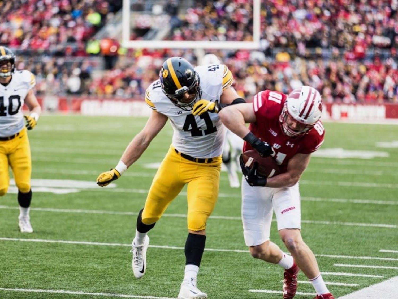 Troy Fumagalli vs Iowa
