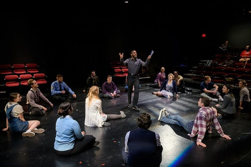 The production of 'Our Town' is put on by the University Theatre.