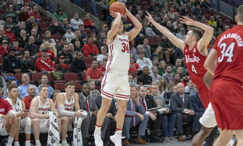 Sophomore guard Brad Davison is one of several Wisconsin perimeter players who will need to be on-target from deep for the Badgers against Oregon's zone defense.