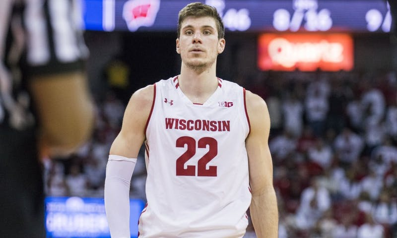 Senior forward Ethan Happ arrived in Madison skinny and under-recruited, but he'll leave the program in the all-time top five of many statistical categories.