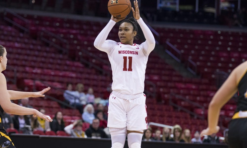 <p>Senior forward&nbsp;Marsha Howard recently became the seventh Wisconsin player to record 1,000 career points, and will finish her career at the Kohl Center Thursday night against Ohio State.</p>