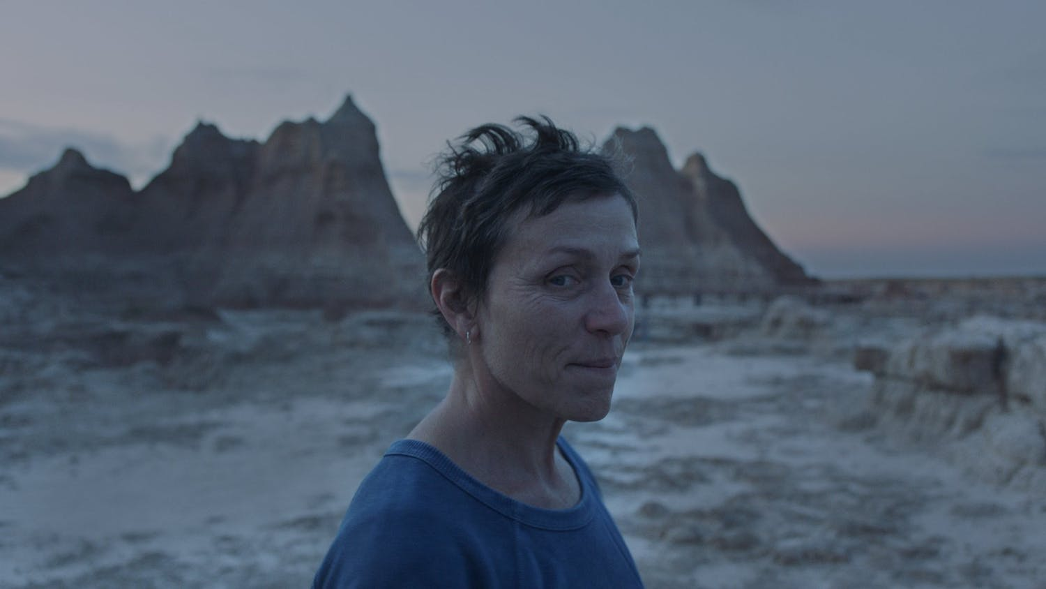 Frances McDormand returns to the big screen as Fern, a widow who hits the road as a modern-day nomad.