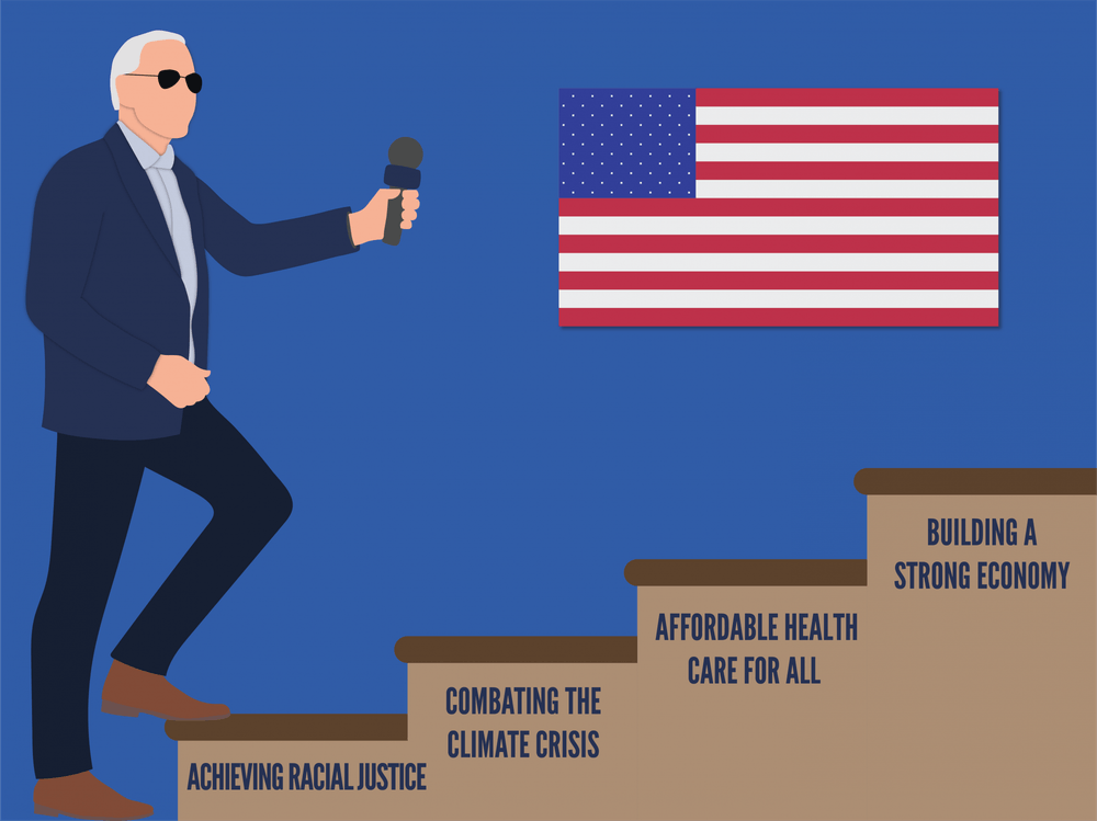 To restore faith in our democracy, to strive for systemic change, and to create an equitable future, we must elect Joe Biden.