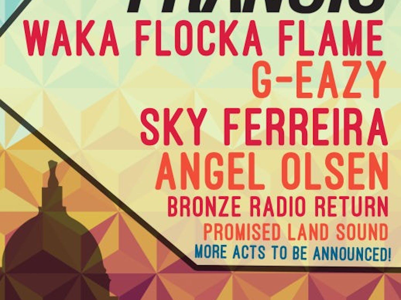 Revelry lineup 2014