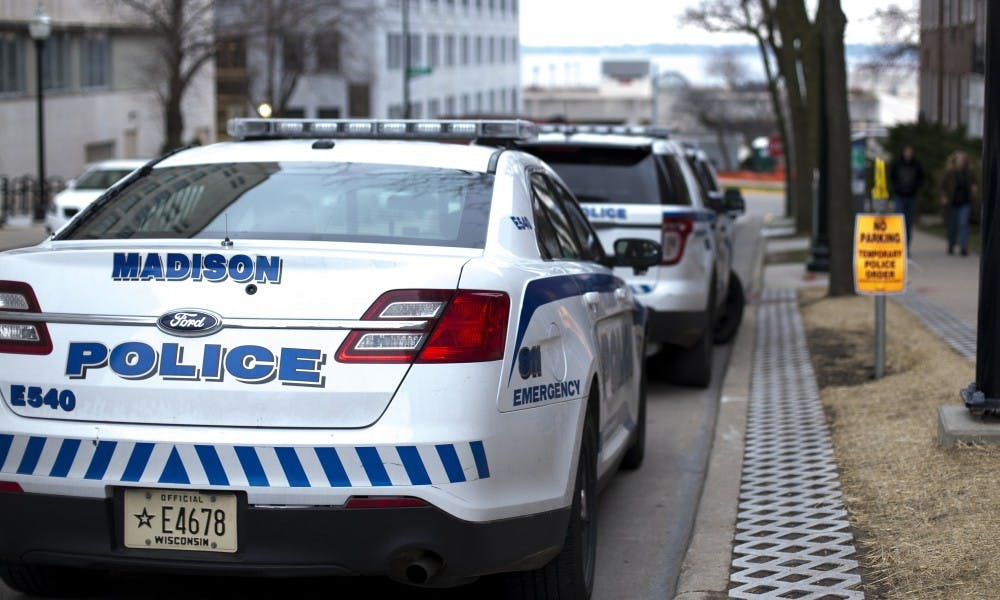 Photo of Madison police car.