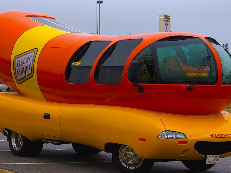 The Oscar Mayer Wienermobile