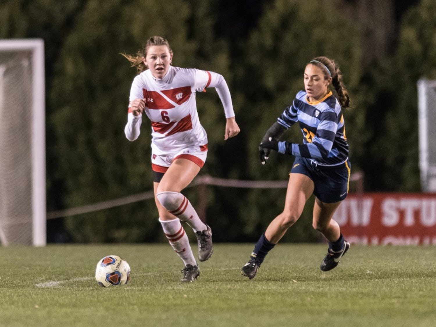 Sophomore defender Grace Douglas scored her first two goals of the season as UW dominated Toledo Friday night.