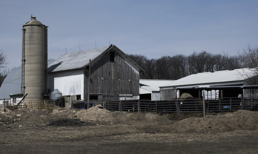 <p>Across Wisconsin, economic downturn means farms like the Bauman's are shrinking.&nbsp;In 2017, the number of farms in the state shrunk, but their average area increased &mdash; indicating that many have consolidated.</p>