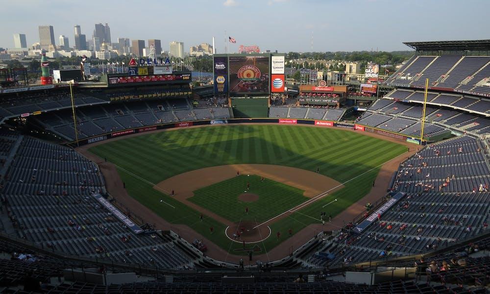 Photo of the Braves Stadium.