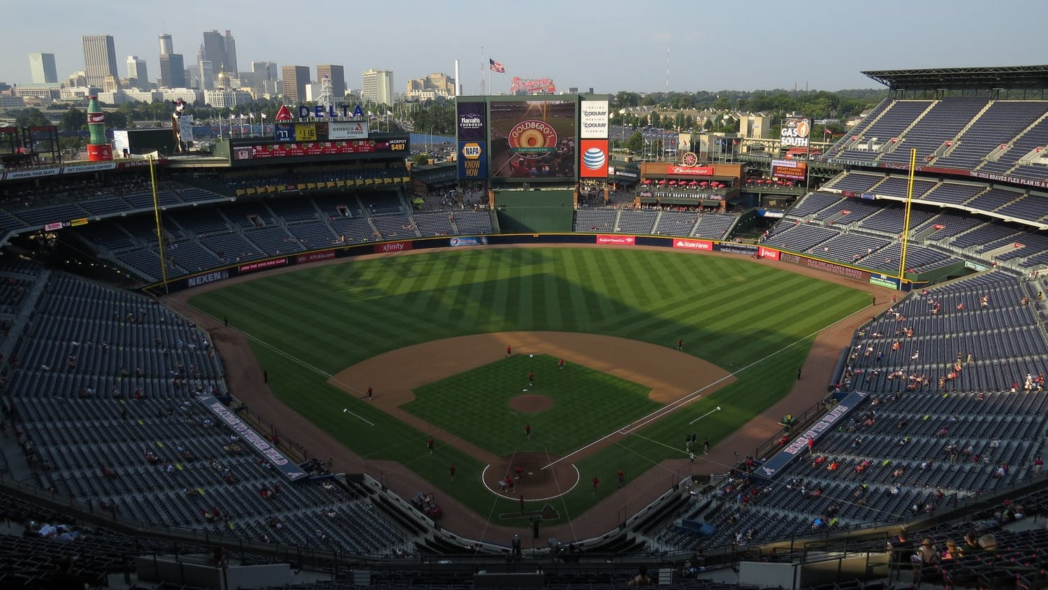 Photo of the Braves Stadium.