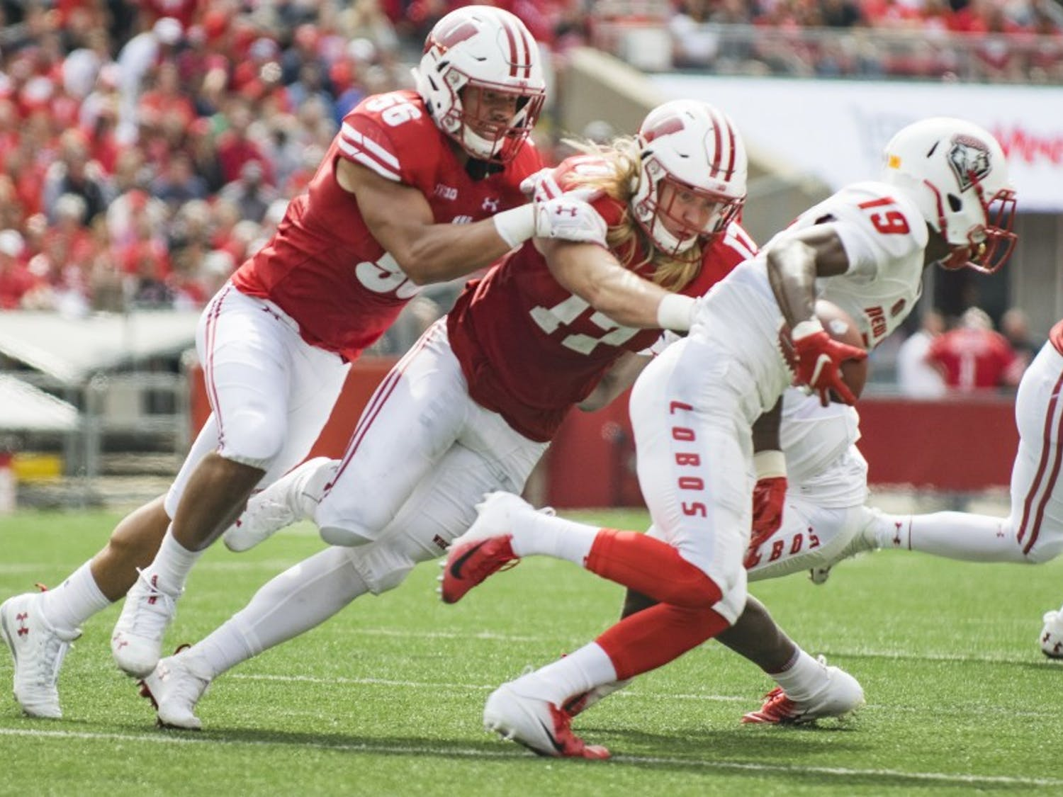 After an injury ended Zack Baun's 2017 season before it started and a disappointing 2018 season, the senior linebacker has played a central role in UW's top-ranked defense in 2019.