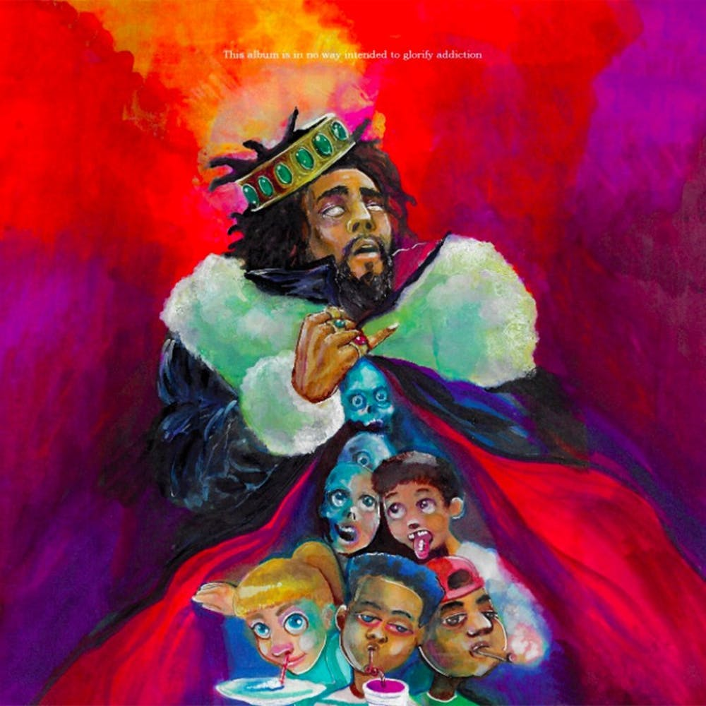 J. Cole's newest record discussestopics such as the weight of addiction and finding love through social media.
