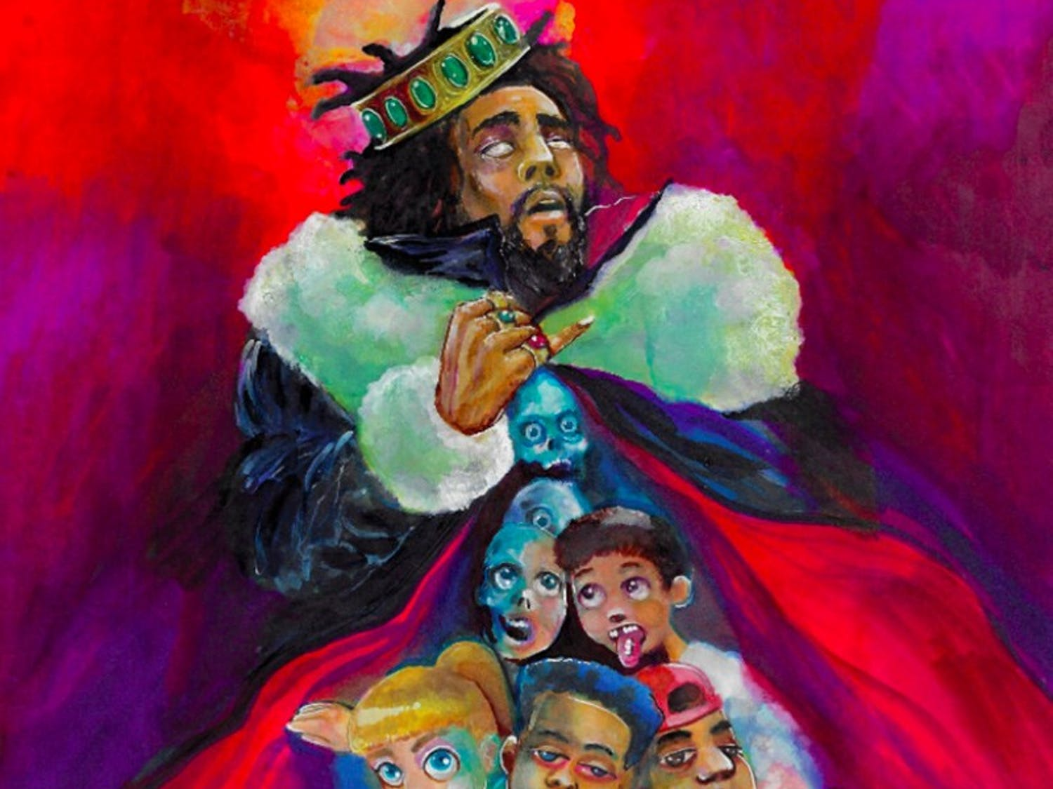 J. Cole's newest record discusses topics such as the weight of addiction and finding love through social media.