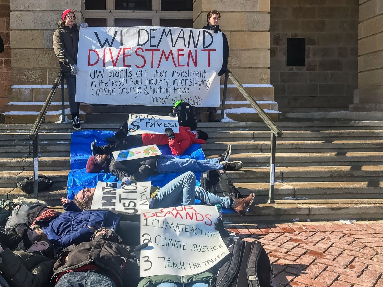 Calls for divestment don't come from the top, but rather from student activists