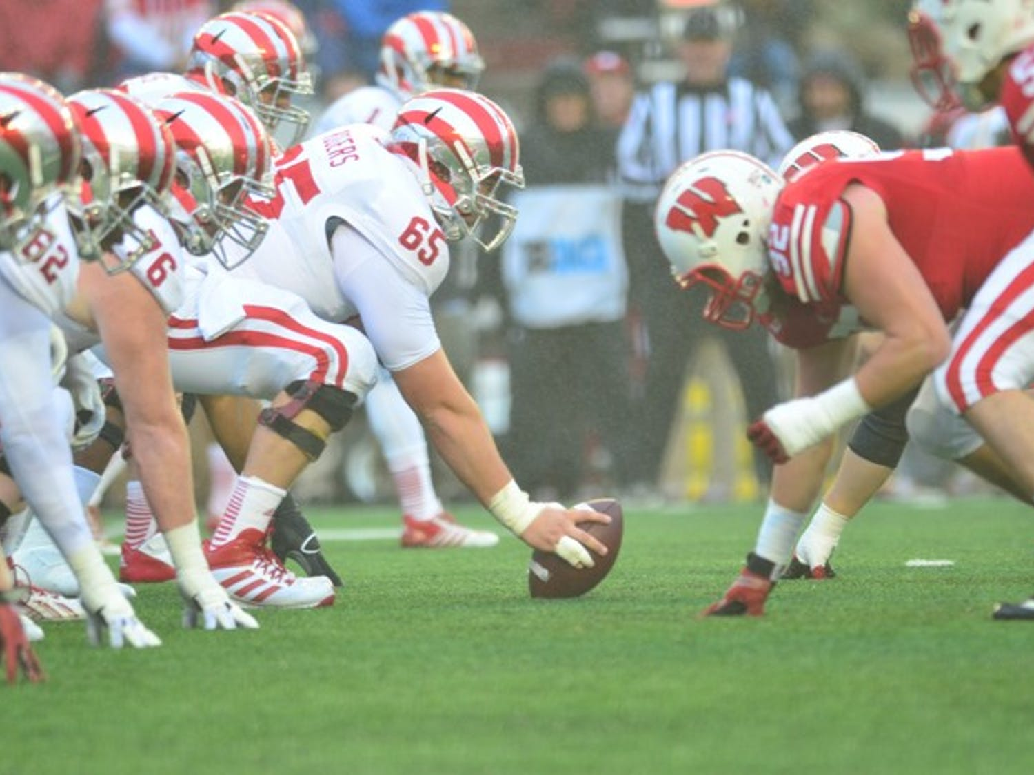 The Badgers won in convincing fashion, 51-3 after a rainy morning at Camp Randall.