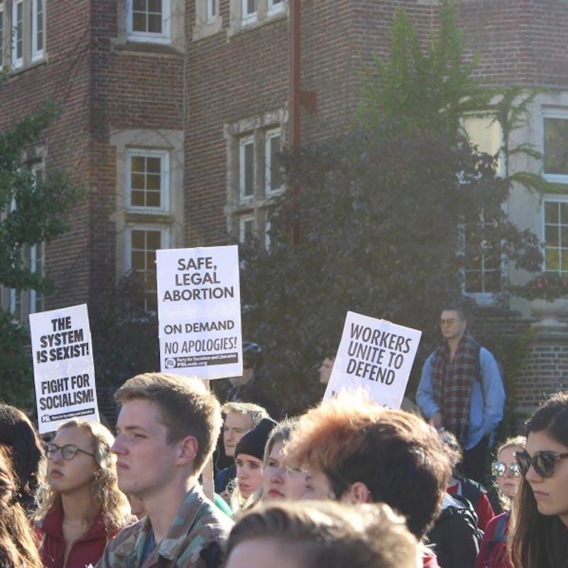 Gallery: #CancelKavanaugh Walkout Against Sexual Assault