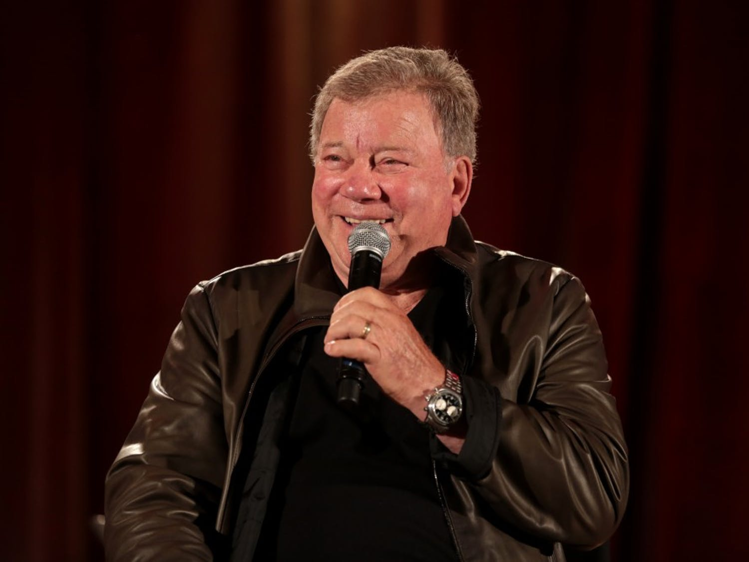 """Trekkies were treated to """"Star Trek II"""" and an appearance byCaptain James T.Kirk himself."""