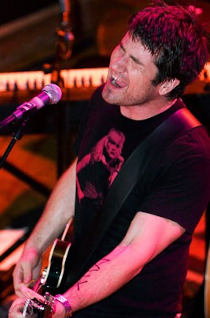 nathanson: Matt Nathanson performed last Thursday at the newly remodeled Majestic Theater in Madison.