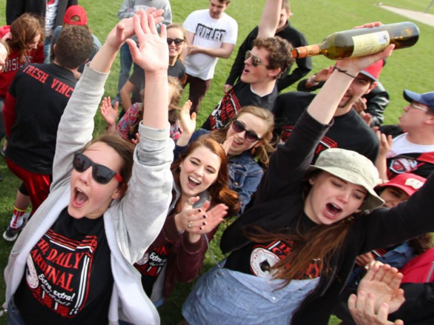 Cardinal staffers have long been practicing their celebration moves for when they inevitably win again this Saturday.