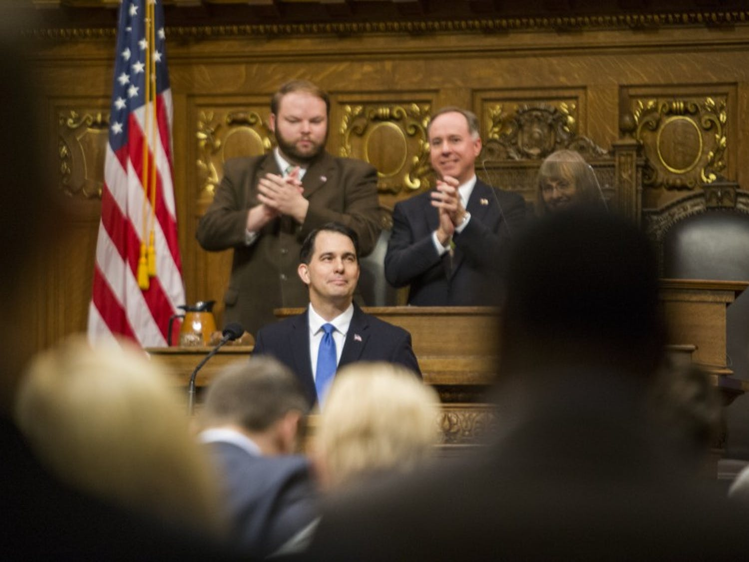 Gov. Scott Walker signed a host of bills into law Tuesday designed to combat child abuse and sex trafficking in Wisconsin.