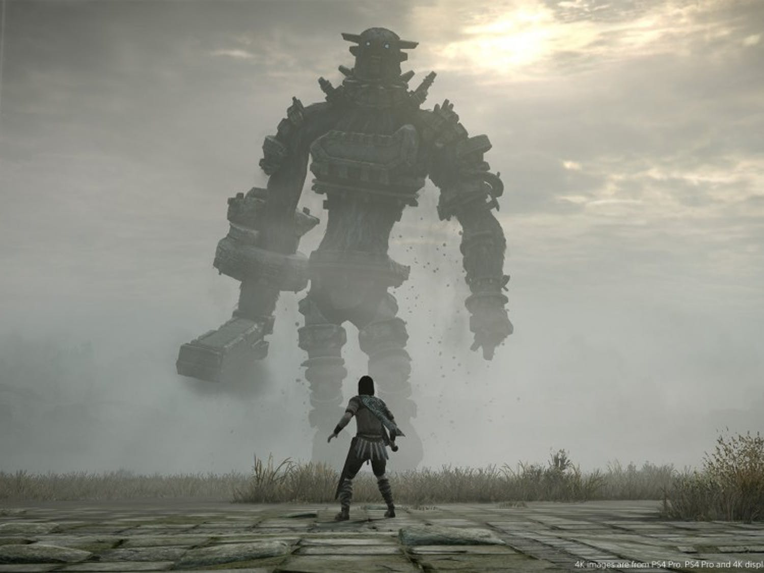 """The """"Shadow of the Colossus"""" remake for PS4 is now available."""