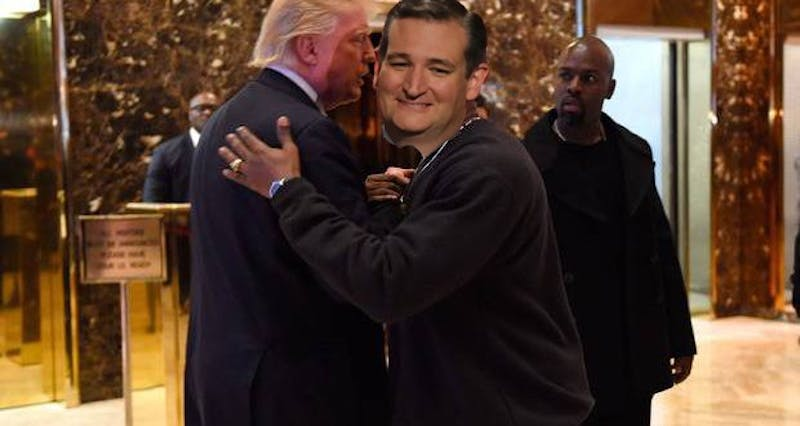 New bros embrace as a shocked onlooker realizes the country's impending doom.